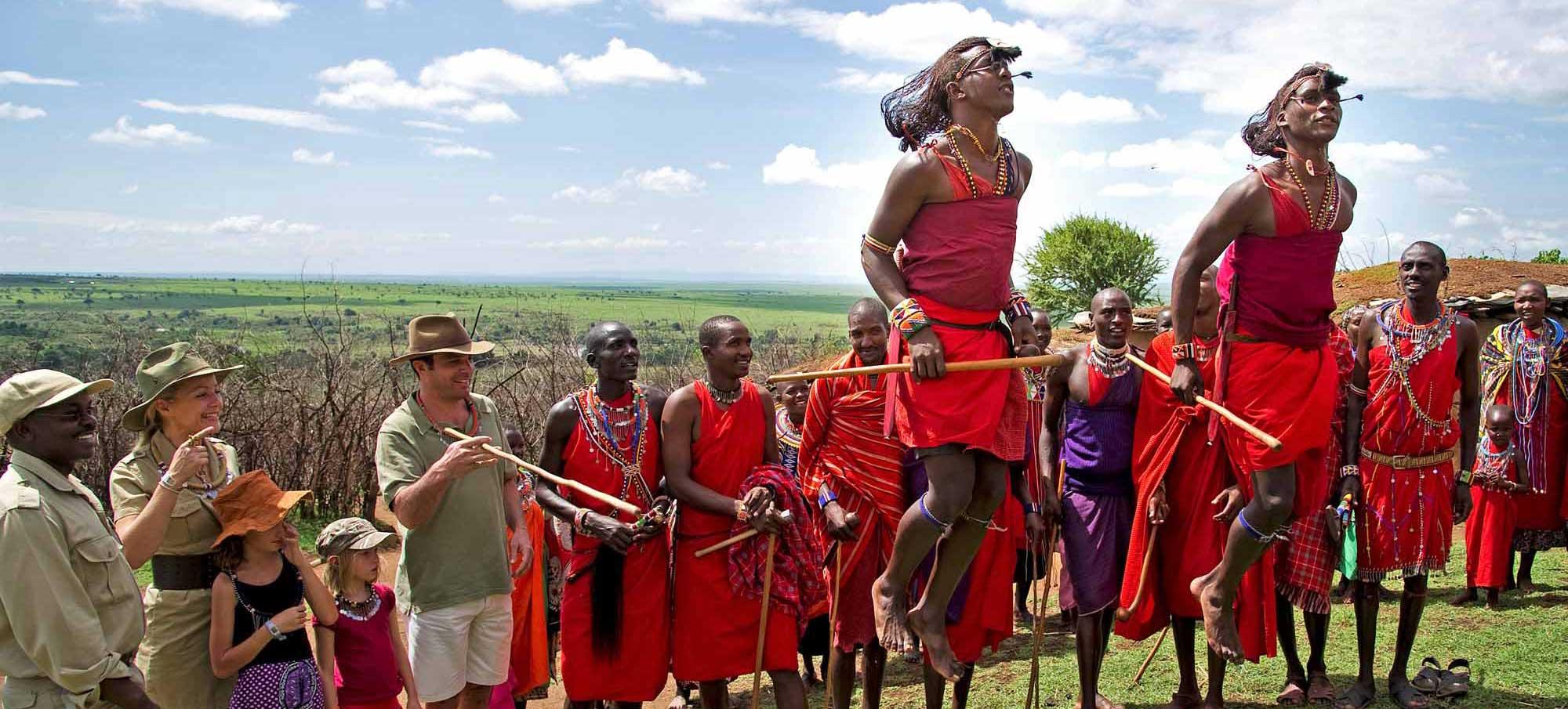 Masai-Tanzanie-Famille-Afrique